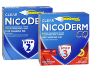 NICODERMCQ STEP 2 PARCHES 14 MG + STEP 3 PARCHES 7 MG PACK